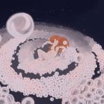 Bain dans l'espace