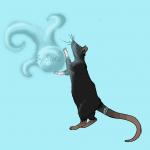 Luna, la ratte magicienne