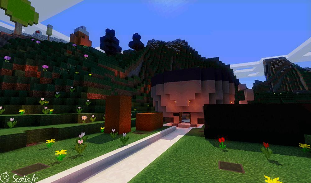 Boutique de Candyland par Scotis sur Minecraft