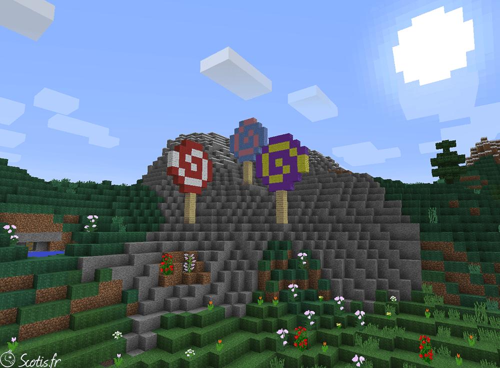 Montagne de Candyland par Scotis