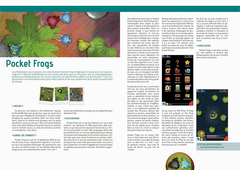 Magasine Pocket Frogs par Scotis