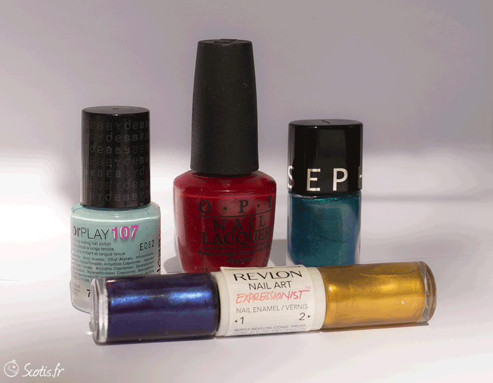 Vernis favoris de Scotis