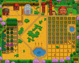 Ferme de Scotis sur Stardew Valley