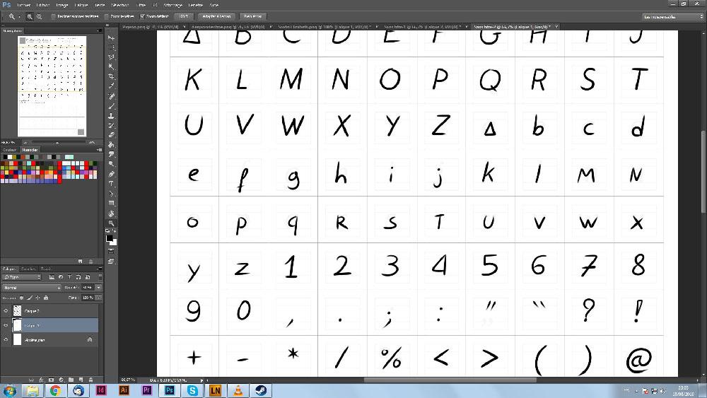 Typographie de Scotis