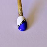 Dentelle bleue