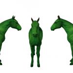 Template islandais / Icelandic horse (téléchargement Sims 3)