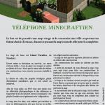 Téléphone Minecraftien