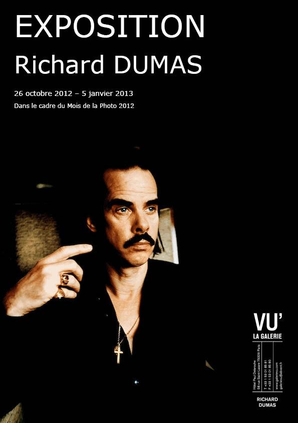 Affiche pour l'exposition de Richard Dumas