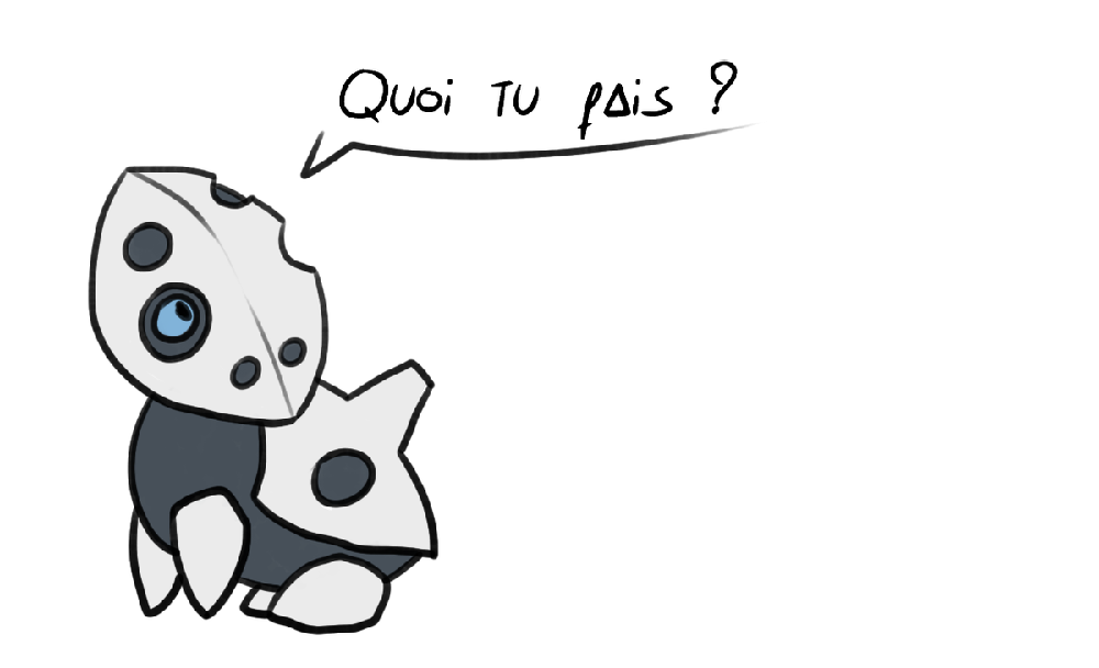 Dessin d'un pokémon galekid par Scotis