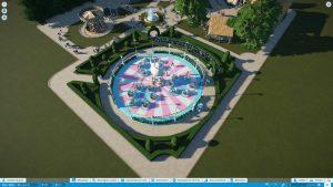 Screenshot de la partie de Planet Coaster de Scotis