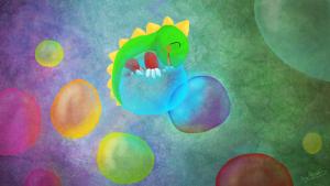 Fan-art par Scotis pour le super jeu Puzzle Bobble
