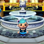 Robe gothique lolita bleue (Animal Crossing Wii)