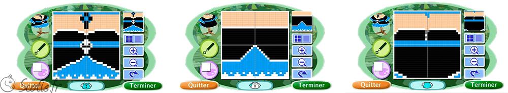 Motif Animal Crossing pour une robe gothique lolita