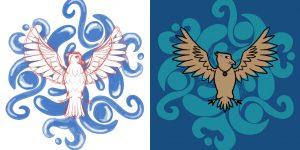 Serdaigle emblème par Scotis