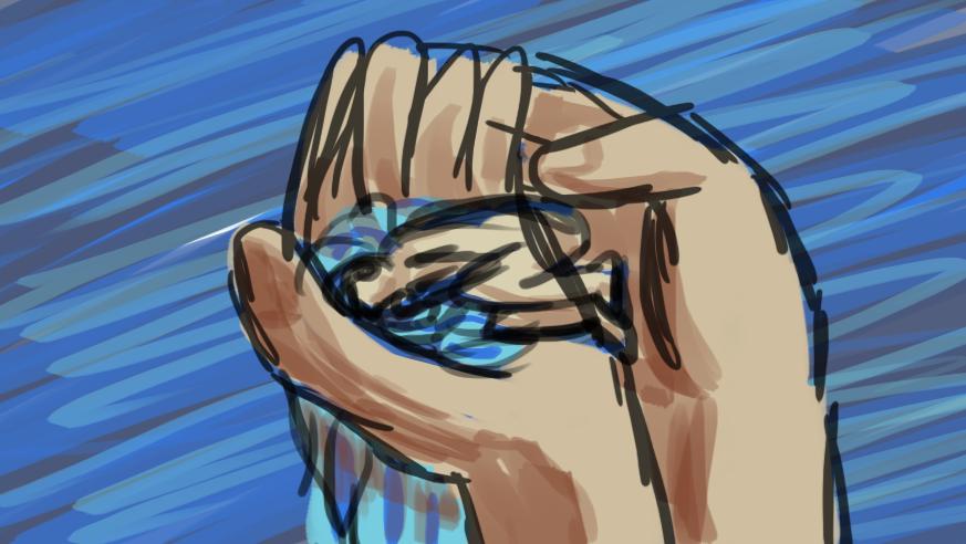 Fée d'eau et cheveux d'eau, wip par Scotis