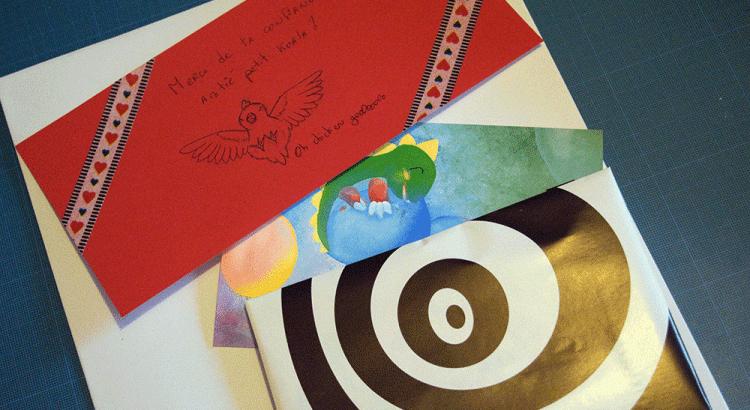 Contenu et emballage d'une commande de chez Scotis (Charlotte Leclère)
