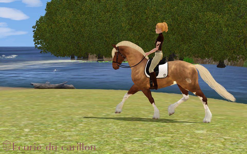 Screenshots Sims 3 : écurie du carillon