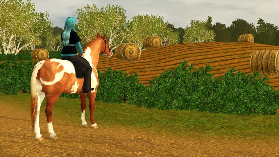Screenshots Sims 3 : Caprice, jument Pure race espagnol origine inconnue et Scotis