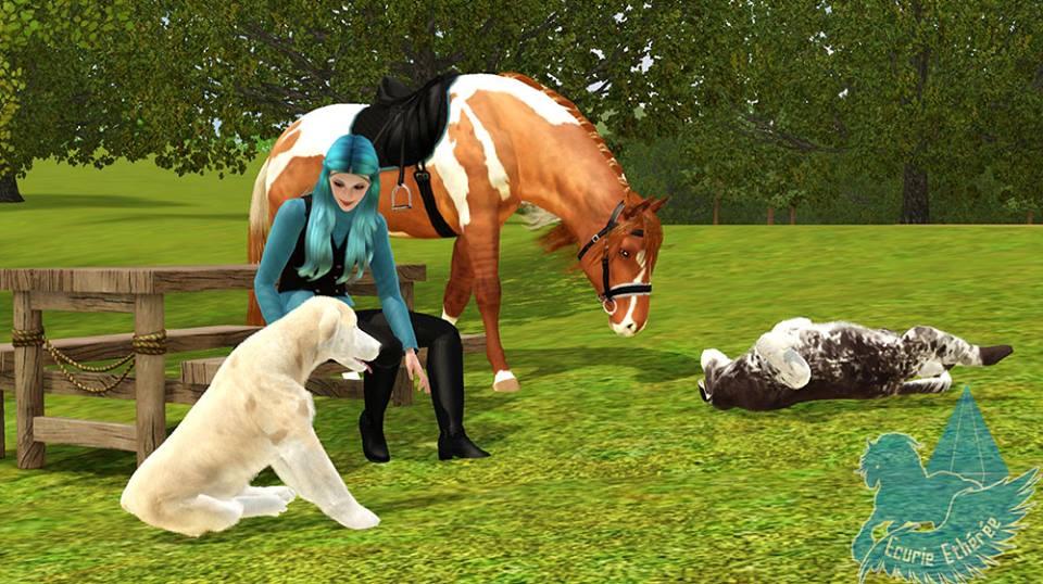 Screenshots Sims 3 : chiens et chevaux