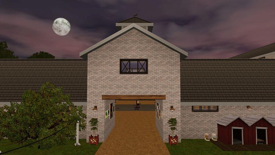 Screenshots Sims 3 : écurie éthérée