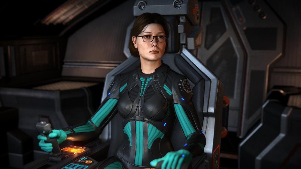 CMDR dans Elite Dangerous (jeu spatiale)