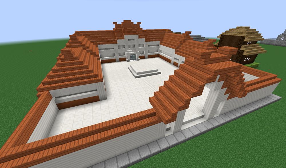 Minecraft archives for Maison classique minecraft