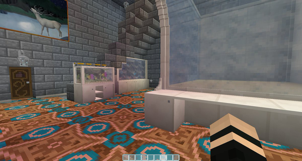 meuble aquarium minecraft. Black Bedroom Furniture Sets. Home Design Ideas