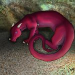 Dragonne rouge