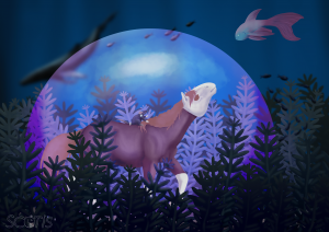 Finition de l'illustration