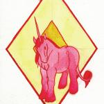 Licorne solitaire