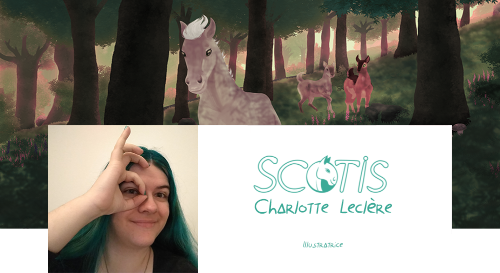 Scotis bienvenue - Site d'illustratrice