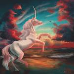 Licorne flamboyante