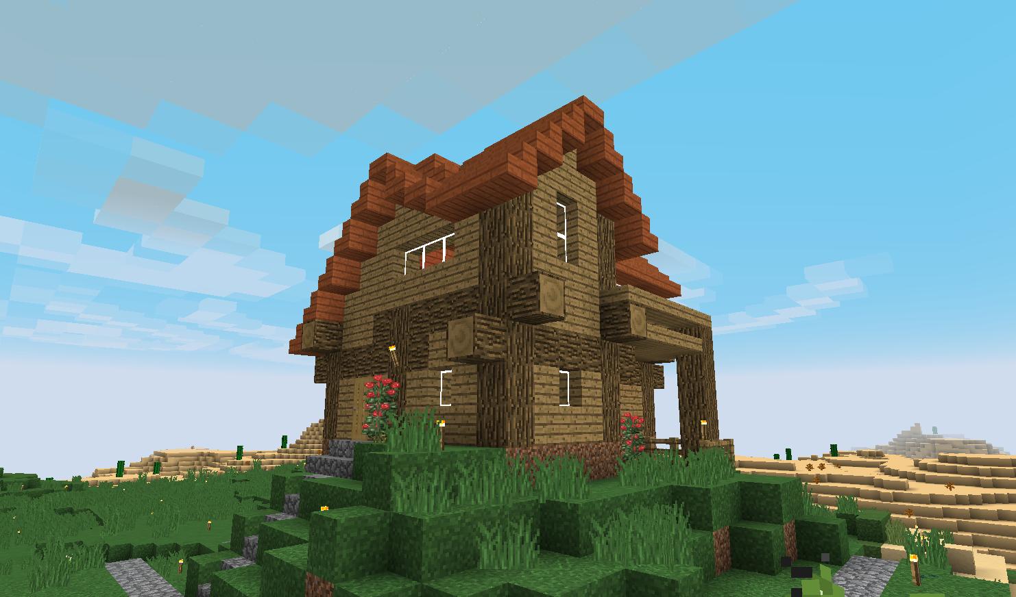 Maison de Scotis sur Minecraft